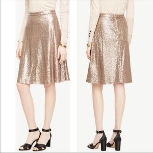 Ann Taylor | Sequin A Line Fit & Flare Holiday 2